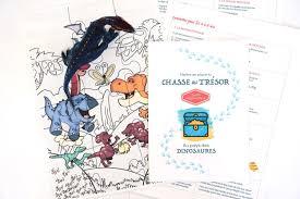 Chasses au tresor à imprimer; Chasse Au Tresor A Imprimer Immediatement Sur Les Dinosaures Un Jour Un Jeu