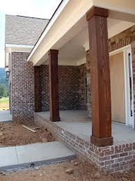 exterior column wraps. Front Porch Column Wraps Wooden Exterior