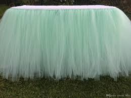 snow white inspired tulle tutu table skirt yellow chair sashes diy these are made with an elastic band which makes them easier to use on any shape or