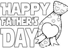 Small Picture Fathers Day Coloring Pages Drawing Sheets Free