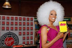 happy birthday rupaul see the world s most famous drag queen without makeup in touch weekly