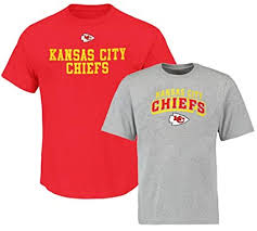 Big Kansas Combo amp; Sizes Chiefs 2 City Mens Pack Shirt Nfl Tall