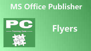 Publisher Flyers Ms Office Publisher Flyers Youtube