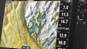 Digital Marine Maps Chartplotters Simrad Australia