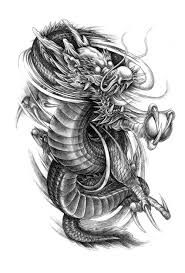 Dragon Phoenix Tattoo Flash Magazine Chinese Style Sketch Art Book