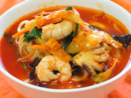 Spicy Seafood Noodle Soup (SamSeon Cham ...