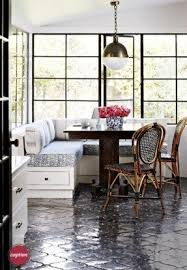 Breakfast nook with chairs 2