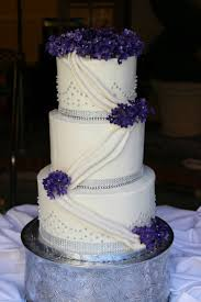 wedding cakes with edible bling. Delighful Wedding Purple Buttercream Wedding Cakes Bling With Edible L