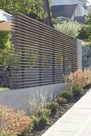 60 Atemberaubende Ideen F R Gartenz Une Sichtschutzzaun