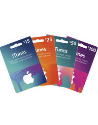 apple itunes gift cards 10 15 25