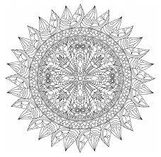 Free printable mandala coloring pages. Free Printable Mandala Coloring Pages For Adults