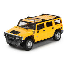 <b>Машина MAISTO</b> 1:24 Hummer H2 Suv 2003 Желтый 31231 ...