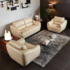u shaped sectional leather couch l