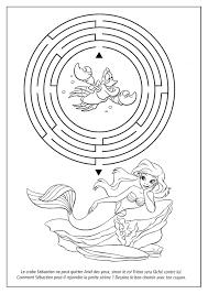 8 Dessins De Coloriage Princesse Ariel Imprimer
