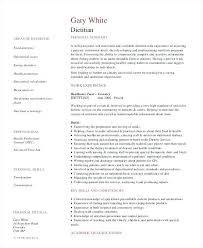Dietitian Resume Example Dietitian Resume Example Template Dietitian Stunning Dietitian Resume