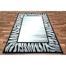 red grey zebra rug and cream black white area rugs half moon animal print
