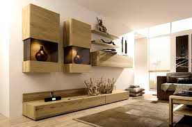 Wooden Furniture Living Room Designs Wooden Finish Wall Unit Combinations From Ha 1 4 Lsta
