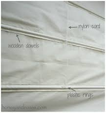 how to make roman blinds.  Make How To Make A DIY Roman Blind  Wwwhoneyandrosescom Throughout To Blinds