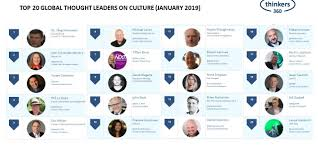 Design Thought Leaders Top 20 Global Thought Leaders And Influencers On Culture