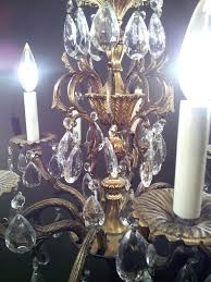 underwriters laboratories inc electric fixture chandelier arm brass crystal chandelier antique appraisal arm brass crystal chandelier