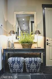 cheap foyer tables. Beautiful Entryway By The Garage Door. Love Stools Under Entry Table . Cheap Foyer Tables