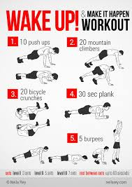 some quick no equipment workouts that helped me i haven t seen them in a long time so here you go the rest can be found here