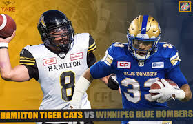 Livestream Ppv Cfl Winnipeg Blue Bombers Hamilton Tiger