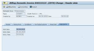 Delivery Docket Best Proof Of Delivery POD Before And After Invoice SAP Blogs