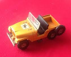 corgi toys original jeep cj 5 for the beaufort double horse box windscreen is ed