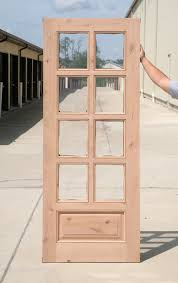 10 lite and 8 lite knotty alder french door clearance