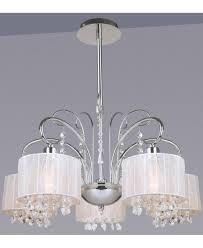 5 Fl Moderner Kronleuchter Moderne Lampen Schwarz Chrom
