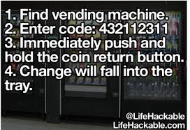 Automatic Products Vending Machine Code Hack Interesting 48 Find Vending Machine 48 Enter Code 44848484848484848 48 Immediately
