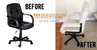 office chair reupholstery. Office Chair Reupholstery With Reupholstering An  Batchelors Way Redo How To Office Chair Reupholstery