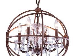 orb chandeliers