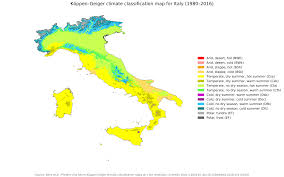 Monthly Weather Chart For Kids Climate Of Italy Wikipedia