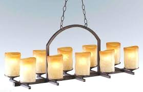 real candle chandelier lighting amazing non electric in wrought iron chand
