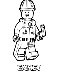 Lego Movie Coloring Pages Printable Coloringstar