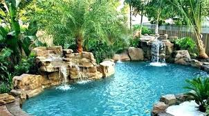 in ground pools with waterfalls. Rock Waterfalls For Inground Pools Pool With Waterfall Swimming . In Ground