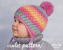Crochet Winter Hat Pattern Best Crochet Hat PATTERN No48 Uni Women Set Winter Crochet