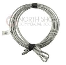 5 32 cable set for 8 high garage door with torsion springs 119