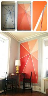 diy accent wall ideas paintings for non artists diy accent wall ideas stencil