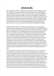 about me essay examples co about me essay examples