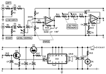 diagram ingram subwoofer speaker level input output connection subwoofer wiring on circuit diagram for car subwoofer driver from redcircuits circuit