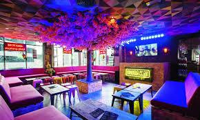 Pink theme cool bar Chocolate Fountain Thats Right Theres An Entire Bar Time Out Dubai Dubais Best Theme Bars Bars Nightlife Time Out Dubai