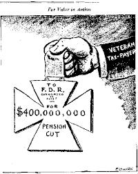 fdr essay  veterans relief expenditures