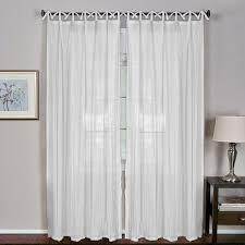 tab top sheer curtains. Elrene Greta Juvenile Tab Top Sheer Curtain Panel (Lilac - 52 X 108), Curtains O