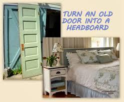 Five Panel Door Headboard Designdreams By Anne Vintage Door Headboard