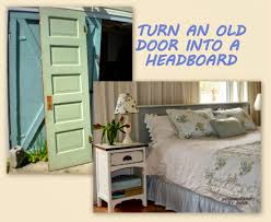 these old door headboards have been popping up all over the internet and osphere for quite a while i ve been wanting one so badly that i was thrilled
