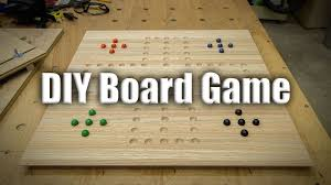 Homemade Wooden Games Easy Gift Project Homemade Board Games 100 YouTube 2