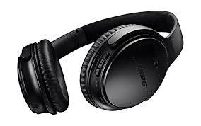 bose earphones noise cancelling. bose quietcomfort 35 wireless over-ear noise cancelling headphones - black earphones